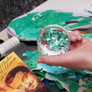 Ateljehäng & måleri med Ingela